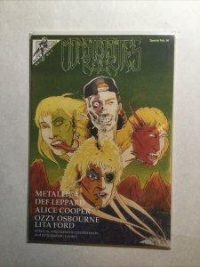 Monstrosities Of Rock Special Feb 90 Near Mint- Nm- 9.2 Rock Fantasy
