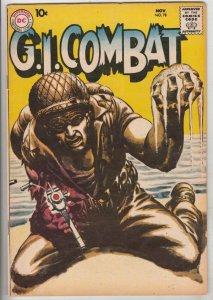 G.I. Combat #78 (Nov-59) VF+ High-Grade
