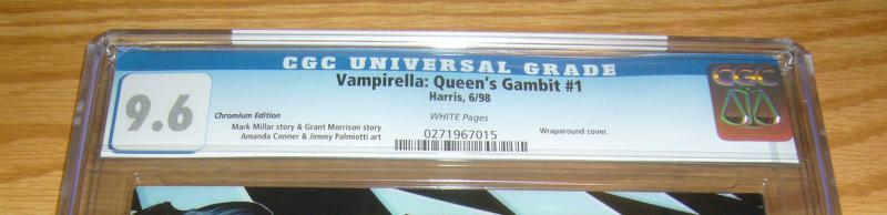 Vampirella: Queen's Gambit #1 CGC 9.6 chromium - amanda conner - millar/morrison