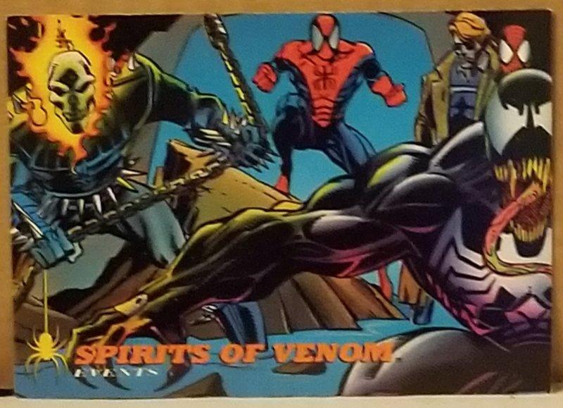 1994 Fleer Spider-Man #133 Spirits of Venom
