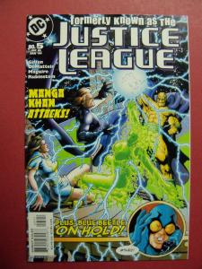 FORMERLY KNOWN AS THE JUSTICE LEAGUE #5 OF 6  VF/NM OR BETTER DC COMICS