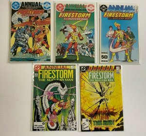 Firestorm set from:#1-5 Annual DC 2nd Series 5 different books 6.0 FN (1983-'87)