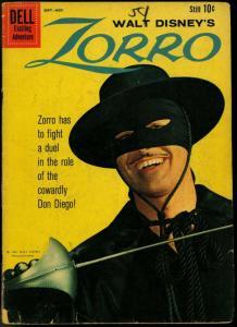 Zorro Comics #11 1959- Dell Disney TV Guy Williams G