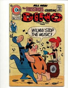 The Flintstones Starring Dino # 6 VG/FN Charlton Comic Book Hanna Barbera J371