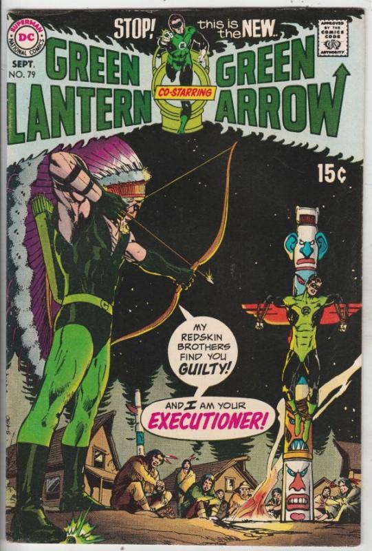 Green Lantern #79 (Sep-70) VF/NM High-Grade Green Lantern, Green Arrow