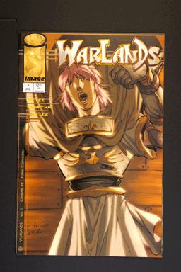 Warlands # 8 July 2000 Image Comics