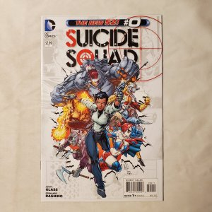 Suicide Squad 0 Very Fine+ Cover by Ken Lashley