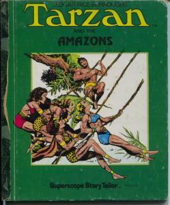 Tarzan Book ST-40-Amazons-Burne Hogarth art-hardback-G