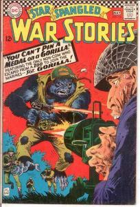 STAR SPANGLED WAR 126 VG   May 1966 COMICS BOOK