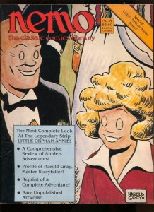 Nemo The Classic Comics Library #8 1984-Little Orphan Annie Review-Harold Gra...