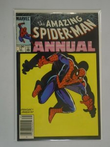 Amazing Spider-Man Annual #17 NS edition 4.0 VG water damage (1983 1st Series)