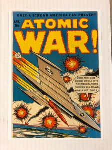Atomic War #3 VF+ 8.5 ace magazines GOLDEN AGE war SCI-FI 1953 JUNIOR BOOKS