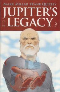 Jupiter's Legacy #2A VF/NM; Image | save on shipping - details inside