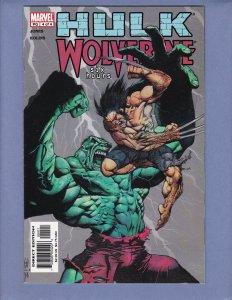 Hulk Wolverine Six Hours #4 NM- Marvel 2003