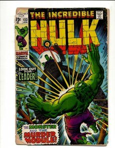 Incredible Hulk # 123 VG Marvel Comic Book Iron Man Captain America Thor BJ1