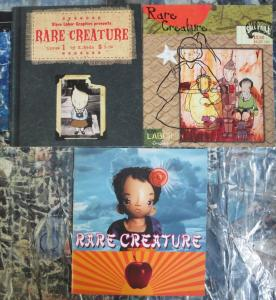 Rare Creature by Kelley Seda Published by Slave Labor Graphics #1-3 Complete