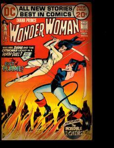 Wonder Woman # 201 FN DC Comic Book Justice League Batman Superman Flash NE3