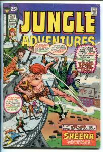 JUNGLE ADVENTURES #2 1971-SKYWALD-1ST ZANGAR-JO-JO-SHEENA-vg