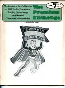 Premium Exchange #7 1977-A--Superman-Buck Rogers Solar Map-ray gun-VG