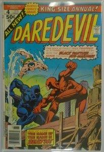 Daredevil ANN #4 - 4.0 VG - 1976