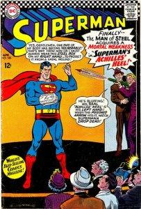 Superman #185 (ungraded) stock photo ID#B-10 / 001