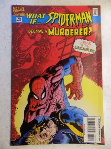 WHAT IF V2 # 72 MARVEL SPIDER-MAN ACTION ADVENTURE AMAZING