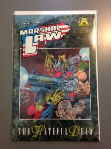 MARSHAL LAW the HATEFUL DEAD #1, NM, Kevin O'Neill, Apocalypse, 1991