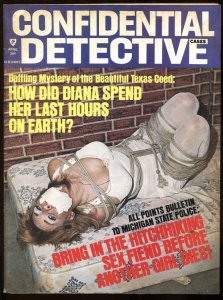 Confidential Detective 4/1974-wild woman tied up on cover