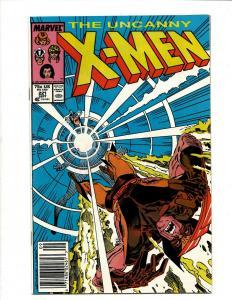 Uncanny X-Men # 221 NM Marvel Comic Book Wolverine Wendigo Storm Cyclops DS4