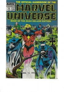 The official handbook of the Marvel Universe #16