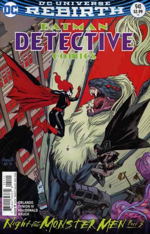 DETECTIVE COMICS (1937 DC) #941 NM- A90132