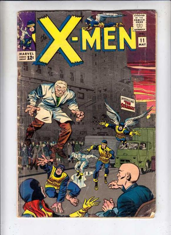 X-Men #11 The strict VG 4.0   1st Appearance - The Stranger    100s more up now