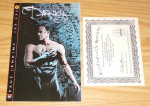 the Darkness: Prelude #1B VF/NM dynamic forces variant w/COA (2187/5000) jae lee
