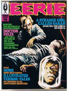 EERIE #16, VF, Warren, Craig, Alex Toth, Vampire, Evil, 1968,more MagS in store