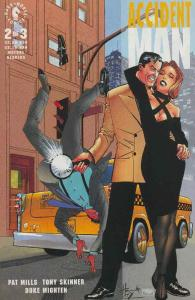 Accident Man #2 VF/NM; Dark Horse | save on shipping - details inside