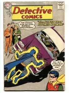 DETECTIVE COMICS #268 comic book 1959 BATMAN ROBIN DC JOHN JONES-VG