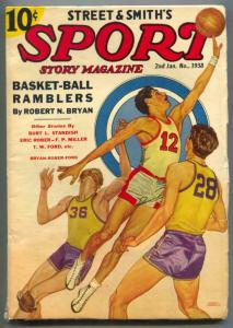 Sport Story Pulp 2nd January 1938- Basket-ball Ramblers FN
