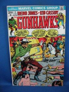 The Gunhawks #3 (Feb 1973, Marvel) VF