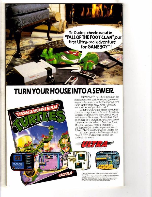 Teenage Mutant Ninja Turtles Movie 2 The Secret Of The Ooze 1991 Archie NM- J224