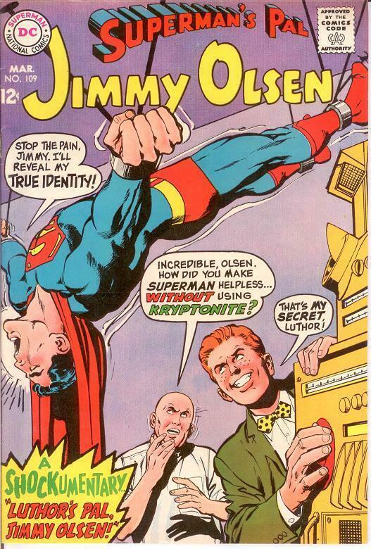 JIMMY OLSEN 109 VF March 1968 COMICS BOOK