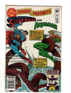 DC Comics Presents #48 (1982)  DC Comics Superman Flash OF6