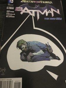 DC Batman Death Of The Family #15 NM Mint Joker!