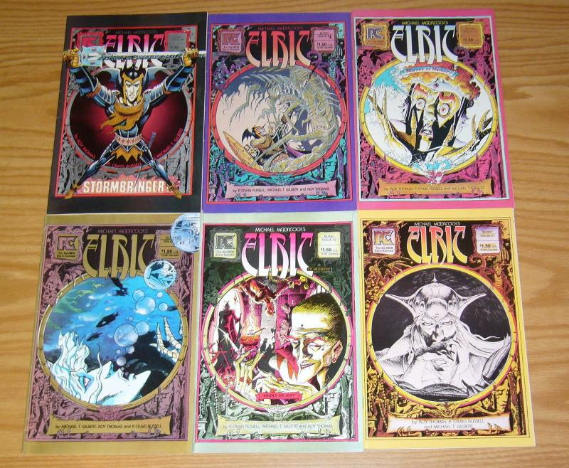 Michael Moorcock's Elric #1-6 VF/NM complete series - roy thomas - pacific comic