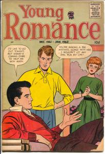 Young Romance Vol. 15 #1 1961-Prize-cool stories-jack Kirby art-G/VG