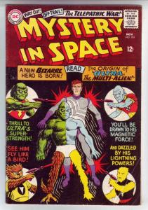 Mystery in Space #103 (Nov-65) FN Mid-Grade Ultra the Mult-Man, Space Ranger