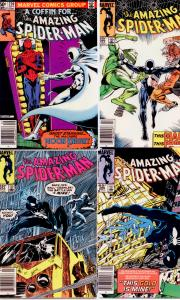Amazing Spider-Man #220 254 266 268 HIGH GRADE (4 issues)