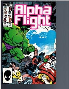 Alpha Flight #29 (1985)