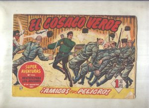 El Cosaco Verde original numero 069: Amigos en peligro (numerado 1 en trasera)
