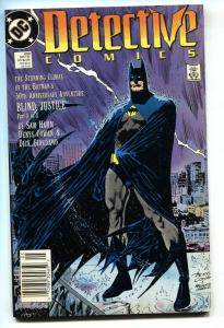 Detective Comics #600-1989-STAN LEE-DC Newsstand variant