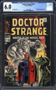 DOCTOR STRANGE (1968-69) #169, CGC FN: 6.0